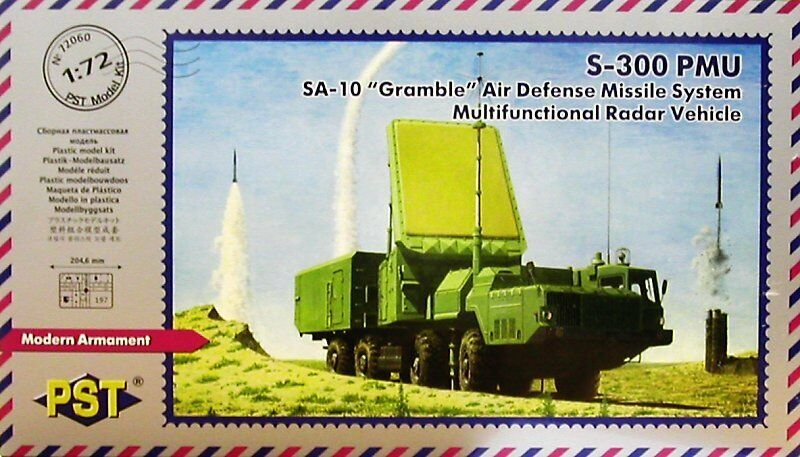 PST 1 72 NSA-10 'Grumble' Air Defense Missile System Multifunctional Radar 72060