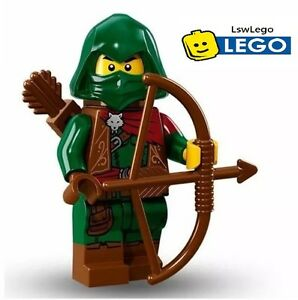 NEW-LEGO-Minifigures-Rogue-Series-16-71013-Forest-Warrior-Archer-Genuine