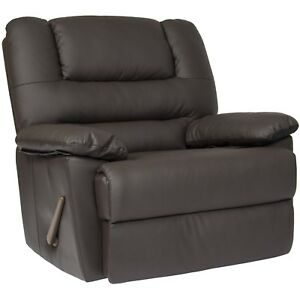 Incredible Details About Oversized Recliner Chair Living Room Arm Club Seat Rocker Wide Big Comfort Home Beatyapartments Chair Design Images Beatyapartmentscom