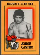 1997 Brown's Boxing #16 Jorge Castro
