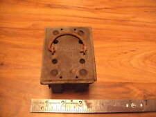 Vintage Range Fuze Boxholder Holds 2 Fuzes Marked Range