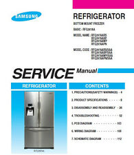 samsung rfg297hdrs rfg297hdwp rfg297hdbp service manual repair guide rh ebay com Samsung RFG297HDRS Dimensions Sumsung 28 5 Cu FT French Door Refrigerator in Stainless Model RFG297HDRS