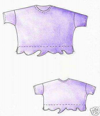 L Designer Schnittmuster Lagenlook Shirt Bali Gr