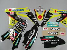 Suzuki RMZ250 2010-2017 Factory Yoshimura graphics kit,plastic kit + seat cover