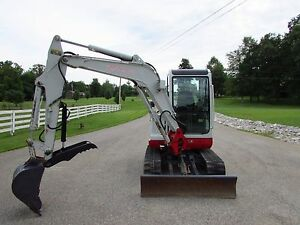 Details about TAKEUCHI TB135 TB035 MINI EXCAVATOR HYDRAULIC THUMB  ATTACHMENT, PIN ON, AR400