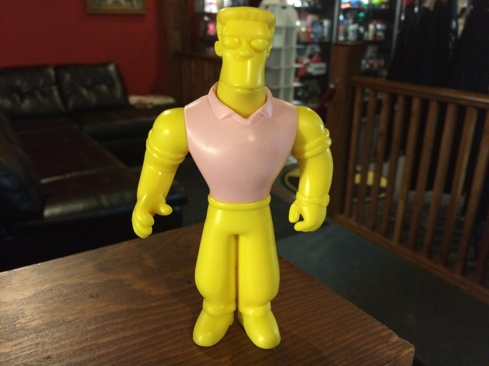 Prototype Test Shot Figure Playmates Simpsons 2002 S11 RAINER WOLFCASTLE  X61
