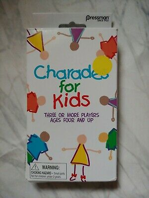 5 5 Pressman Toys Charades for Kids Peggable Game 3010-12 Multicolor