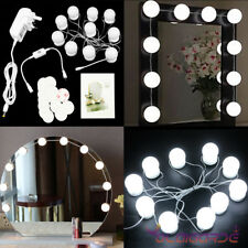 10x Led Vanity Makeup Mirror Lights Kit Hollywood Style Dimmable