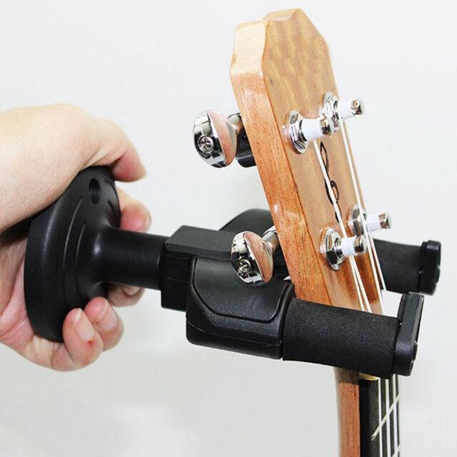 Bass Guitar Hanger Hook Holder Wall Mount Display Instrument Anchor Stands Racks