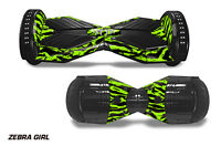 Skin Decal Wrap Stickers For Bluetooth Hover Board Scooters Fits Sense,q6 Zbra