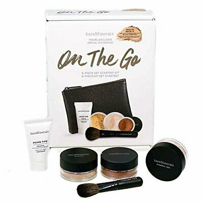 bare minerals on the go makeup starter kit  medium beige