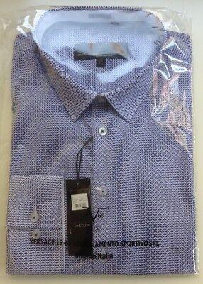 VTP107  Choice of Sizes S,M,L,XL Versace Abbigliamento V1969 Mens Dress Shirt