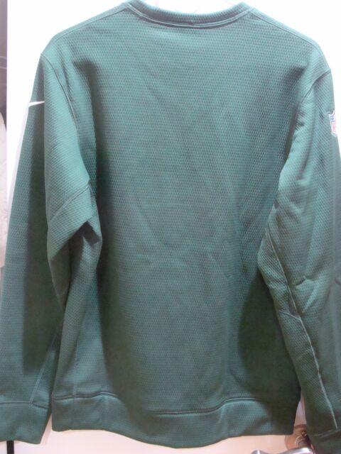 Men/'s Nike NFL New York Jets Therma-Fit Sweatshirt 629865 323 Size S XL