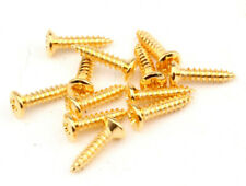 Mountig Screws #3-48x32 Gold Plated  Qty12 Humbucker Height Adj