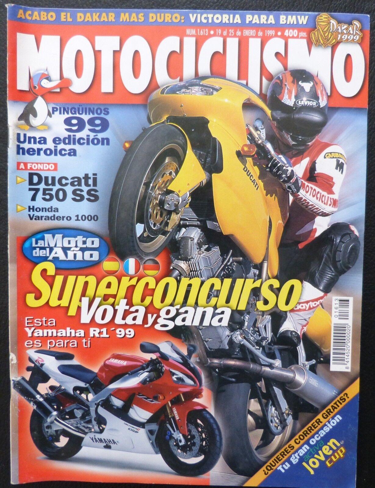 REVISTA MOTOCICLISMO,AÑO 1999,NUMERO 1613, La moto del año
