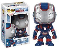 Funko POP! Marvel Iron Man Ferro 3 Patriot Giocattolo Bobble Head