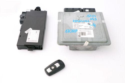BMW 1 3 series E81 E87 LCI E90 120i 320i Petrol N43 ECU KIT DME 7583225 CAS3 Key