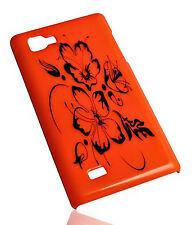 Design No.2 Hard Back Handy Cover Case Hülle für LG P880 Optimus 4X HD