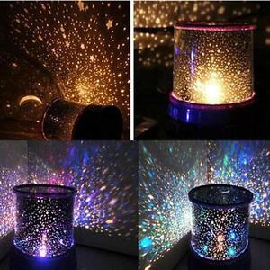 Romantic LED Starry Night Sky Projector Lamp Star Light Master Great Sale