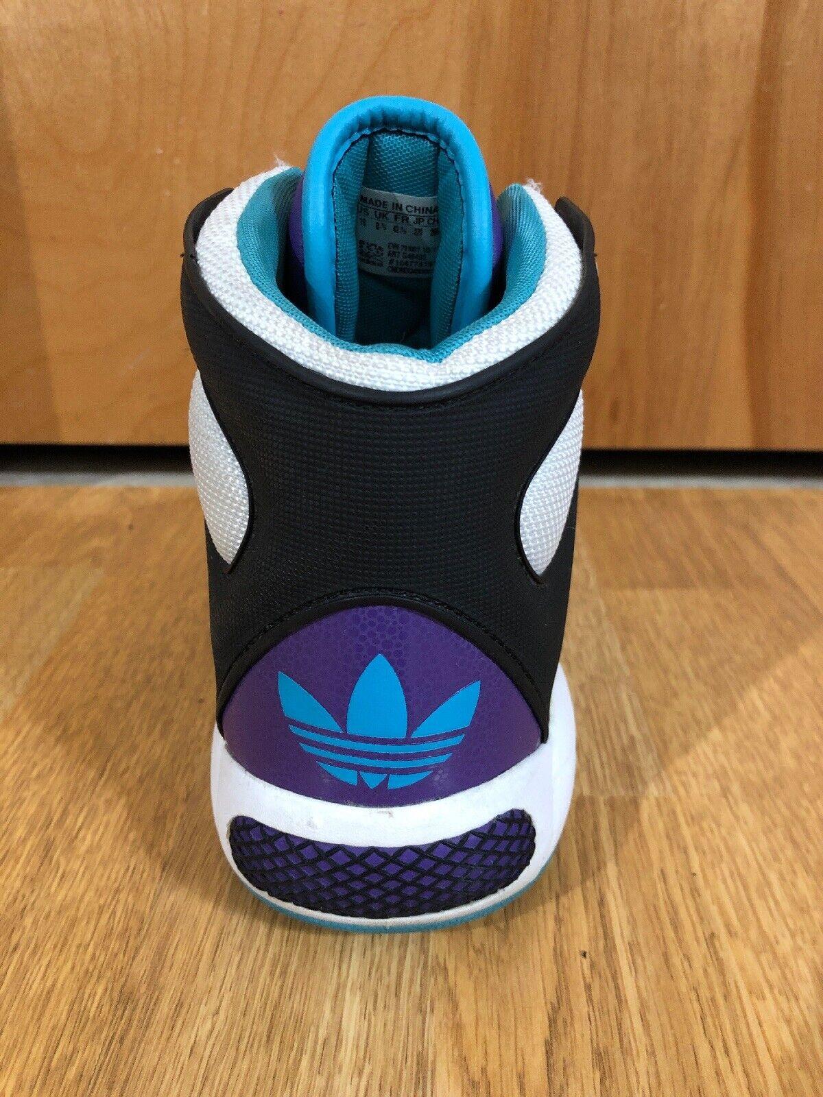 Womens Vintage Adidas Roundhouse Basketball Shoes… - image 6