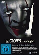 THE CLOWN AT MIDNIGHT  DVD NEU  CHRISTOPHER PLUMMER/MARGOT KIDDER/JAMES DUVAL/+
