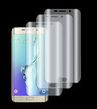 3 x Panzerfolie Samsung Galaxy S6 Edge 3D TPU Folie Klar Komplett Rand Schutz
