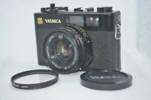 EXC-Yashica-Electro-35-CC-Black-Rangefinder-35mm-Film-Camera-From-Japan