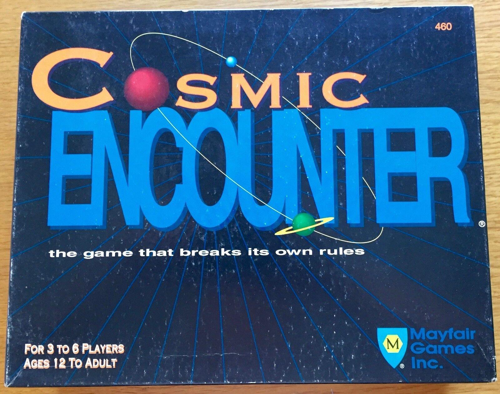 Cosmic Encounter - Mayfair Games 1991 - Pedine staccate ma mai giocato.