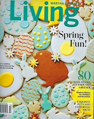 Martha Stewart Living April May 2019