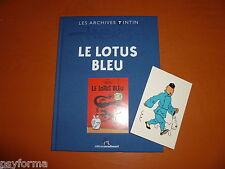 Hergé - Les archives Tintin - Le Lotus Bleu - Moulinsart - COMME NEUF !!!!
