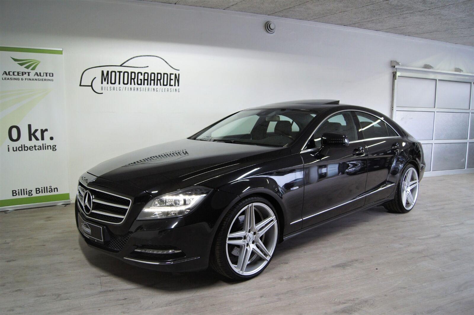 Mercedes CLS350 3,5 aut. BE 4d - 3.150 kr.