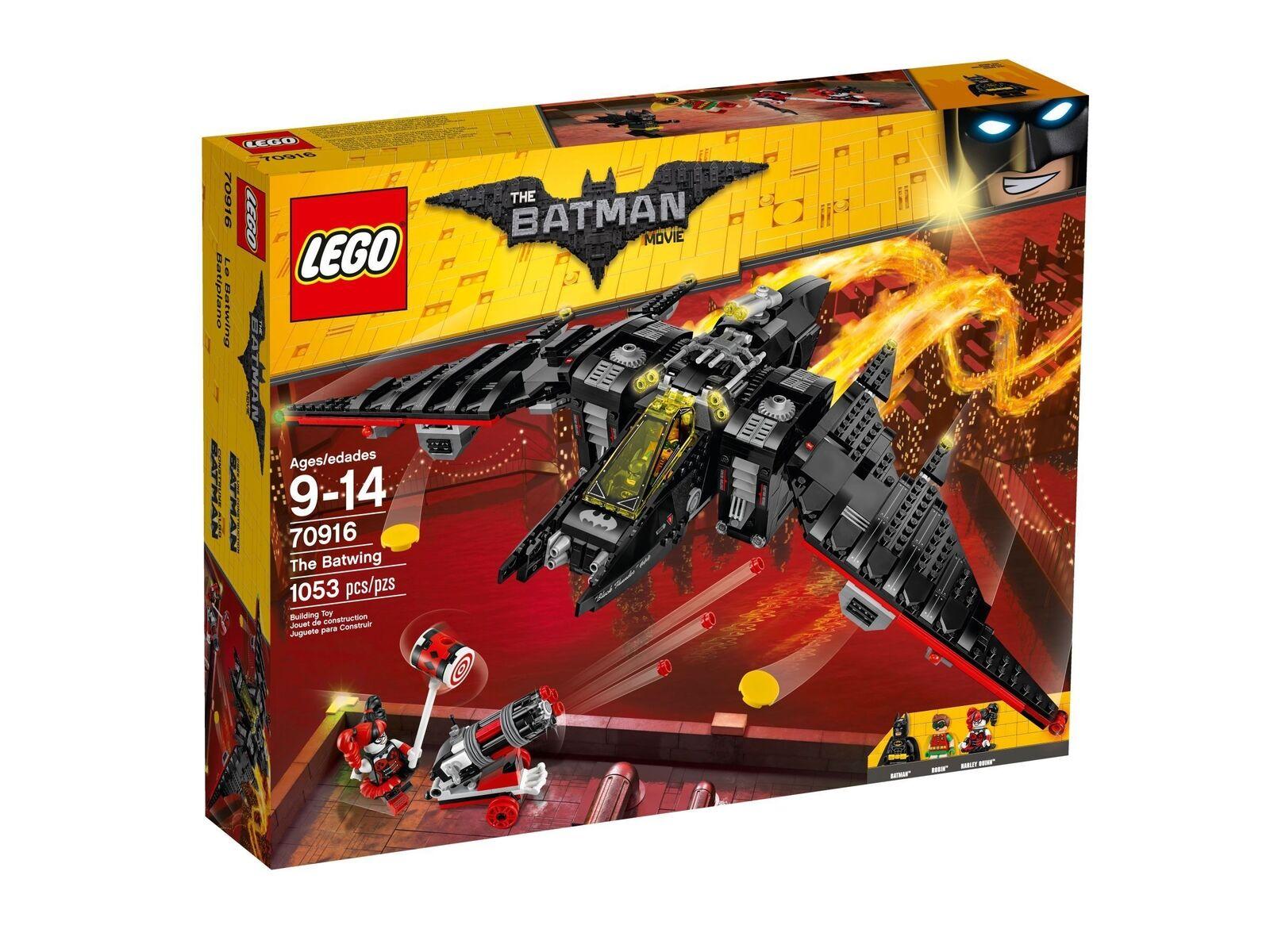 The Lego Batman Película 70916 Batwing Nuevo Embalaje Original Misb