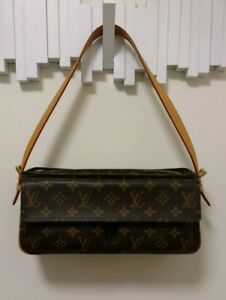 f373b88f740f Louis Vuitton Viva Cite MM Monogram Shoulder Bag with Receipt and ...