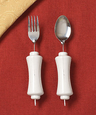 EATING AID - BENDABLE SOUP SPOON w/ BUILT-UP HANDLES