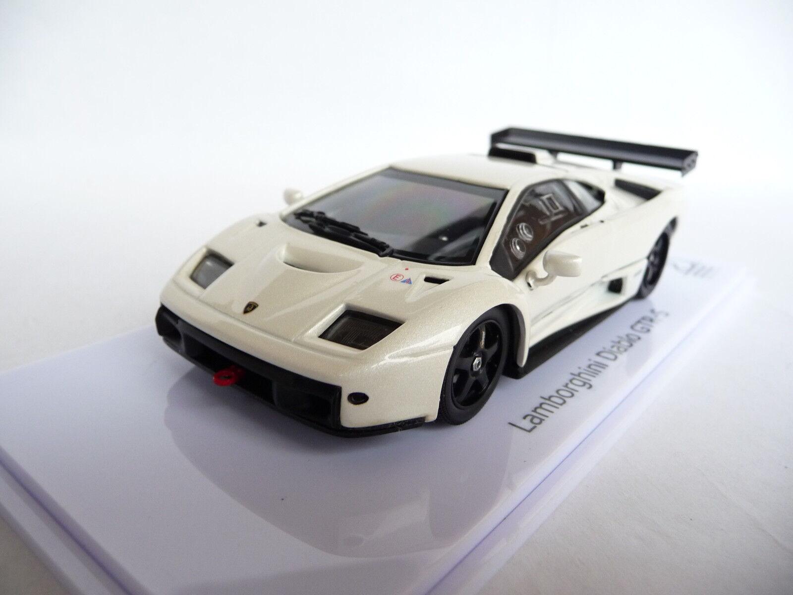 Venta en línea de descuento de fábrica Kyosho 1 43 LAMBORGHINI DIABLO GTR-S PEARL blanco blanco blanco KY03215PW  costo real