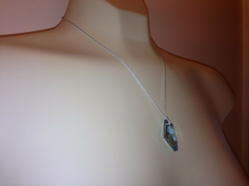 Womens BirthStone Crystal Necklace Premium Silver Plate Blue Green Brown Clear