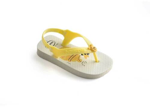 Havaianas Baby Disney Infants Whiteyello Rubber Sandal Size UK 5-12
