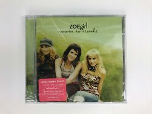 Zoegirl Room To Breathe CD Christian Pop Rock NEW SEALED