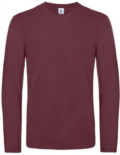 Herren T-Shirt #E190 Long SleeveB/&C
