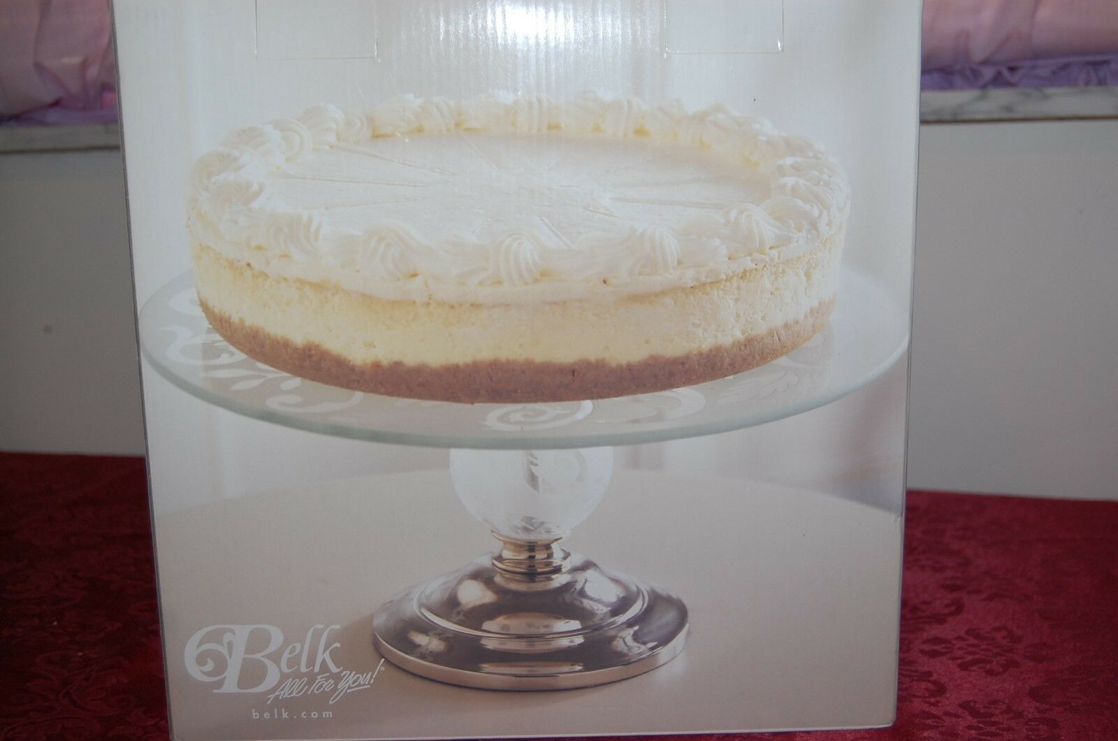 Pedestal Cake Plate Stand New In Box