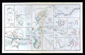 Map Of Jonesboro Georgia.Civil War Map Atlanta Campaign Georgia Blakely Bethel Jonesboro 16th