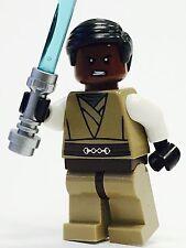 LEGO STAR WARS JEDI CUSTOM MINFIG BLACK HAIR 100%NEW LEGO PARTS JEDI KNIGHT MALE