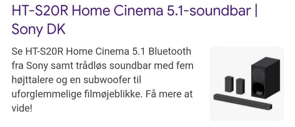 Home Cinema, Sony, Perfekt