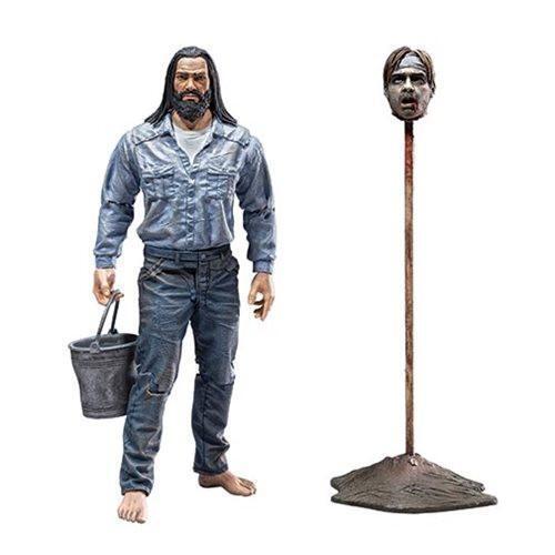 The Walking Dead Comic Series 5 negan figurine emprisonné