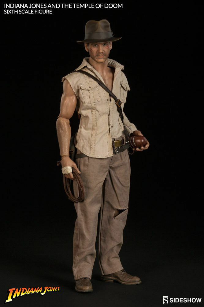 Indiana Jones The Temple of Doom 12  figure Sideshow Sideshow Sideshow Collectibles 1 6 SCALE NEW 2fd164