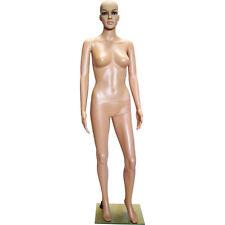 Mn 235 Fleshtone Plastic Female Full Size Mannequin With Removable Head