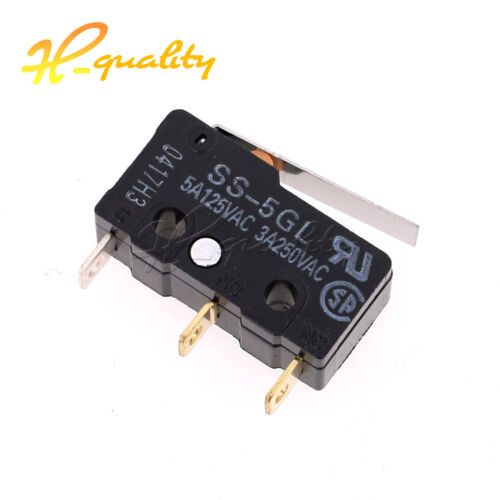 2//5PCS SS-5GL Mini Limit Switch Com-NC-NO End Stop Switch OMRON  For 3D Printer