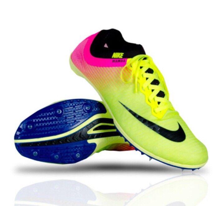 Nike Zoom Mamba 3 rosa oC racing track Spikes Volt negro rosa 3 882018-999 reducción de precios el último descuento zapatos para hombres y mujeres c5b2e6