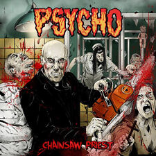 PSYCHO - Chainsaw Priest (CD, 2014, Self Made God) Grindcore/Hardcore Punk
