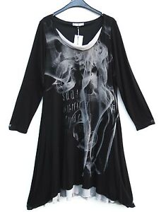 LA MOUETTE TRAUMHAFT Kleid Dress Robe Tunika Tunic L 44 46 Lagenlook ****
